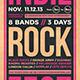 Indie Rock Flyer Template V12 - GraphicRiver Item for Sale