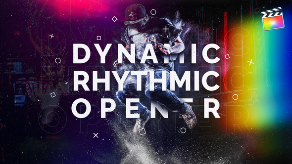 Dynamic Rhythmic Opener | For Final Cut & Apple Motion