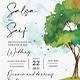 Tree Wedding Invitation Set - GraphicRiver Item for Sale