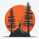 Black Deer Logo - GraphicRiver Item for Sale