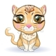 Asian Golden Cat with Characteristic Spots - GraphicRiver Item for Sale