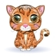 Bengal Cat in Cartoon Style - GraphicRiver Item for Sale