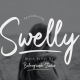 Swelly Handwritten Brush Script - GraphicRiver Item for Sale