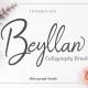 Beyllan Calligraphy Brush - GraphicRiver Item for Sale