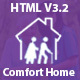 Comfort Home - Old, Health & Senior Care HTML Template - ThemeForest Item for Sale