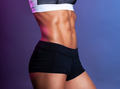 perfect female abs abdominal muscle - PhotoDune Item for Sale