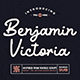 Benjamin Victoria - Retro Script Font - GraphicRiver Item for Sale