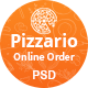 Pizzario - Fast Food & Pizza PSD Temptale - ThemeForest Item for Sale