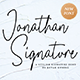 Jonathan Signature Font - GraphicRiver Item for Sale
