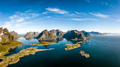Lofoten is an archipelago in the county of Nordland, Norway. - PhotoDune Item for Sale