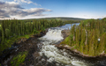 Ristafallet waterfall in the western part of Jamtland - PhotoDune Item for Sale