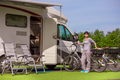 Family vacation travel RV, holiday trip in motorhome - PhotoDune Item for Sale