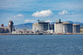Hammerfest Island Muolkkut Northern Norway, gas processing plant. - PhotoDune Item for Sale
