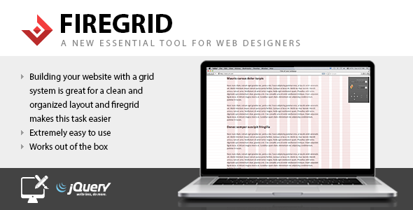 FireGrid - Tool for web designers