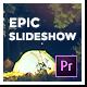 Epic Glitch Parallax Slideshow Premiere Mogrt - VideoHive Item for Sale