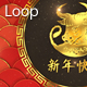 Lunar Year Ox Glitter 7 - VideoHive Item for Sale