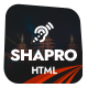 Shapro - Multipurpose Landing Page HTML5 Responsive Template - ThemeForest Item for Sale