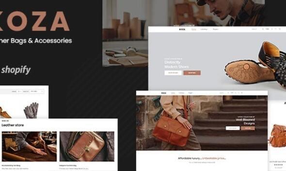 Koza - Leather Market Premium Shopify Theme
