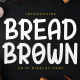 Bread Brown - Cute Display Font - GraphicRiver Item for Sale