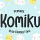 Komiku - Cute Display Font - GraphicRiver Item for Sale