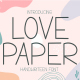 Love Paper - Cute Handwritten Display - GraphicRiver Item for Sale