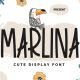 Marlina - Cute Display Font - GraphicRiver Item for Sale