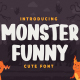 Monster Funny - Cute Display Font - GraphicRiver Item for Sale