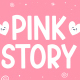 Pink Story - Cute Display Font - GraphicRiver Item for Sale