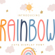 Rainbow - Cute Display Font - GraphicRiver Item for Sale