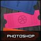 Social Media Ticket Stub - GraphicRiver Item for Sale