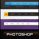 5 Navigation Bars - GraphicRiver Item for Sale