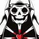 Death Dealer Love Logo Template - GraphicRiver Item for Sale