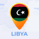 Libya Map - State of Libya Travel Map - VideoHive Item for Sale