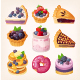Set of Vector Blueberry Desserts - GraphicRiver Item for Sale