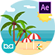 Summer Background | After Effects - VideoHive Item for Sale