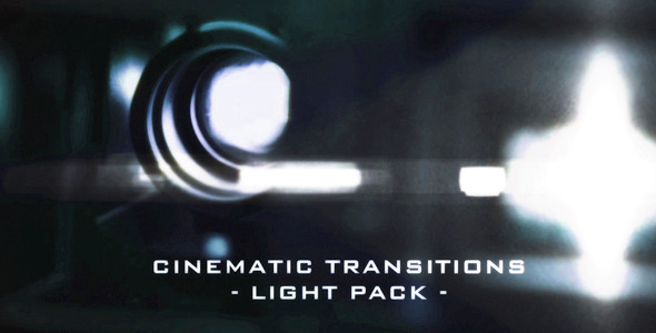 Cinematic Light Transitions - 11 Pack