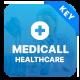 Medicall - Medical & Health Keynote Presentation Template - GraphicRiver Item for Sale