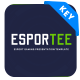 Esportee - Esport Gaming Keynote Presentation Template - GraphicRiver Item for Sale