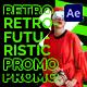 Retrofuturistic Promo - VideoHive Item for Sale
