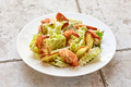 portion of cesar salad with grilled prawns - PhotoDune Item for Sale