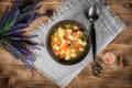 Homemade Italian minestrone soup. - PhotoDune Item for Sale
