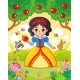 Little Princess Stands in Forest - GraphicRiver Item for Sale