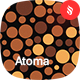 Atoma - Colorful Circles Seamless Pattern - GraphicRiver Item for Sale