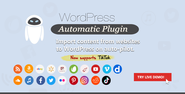 Automatyczna wtyczka WordPress