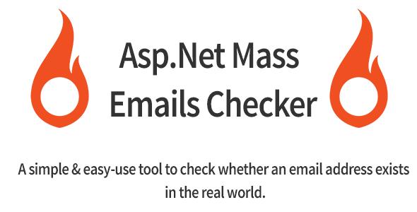 Asp.Net Mass eMails Checker