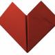 Paper Heart Origami 3D Model - 3DOcean Item for Sale