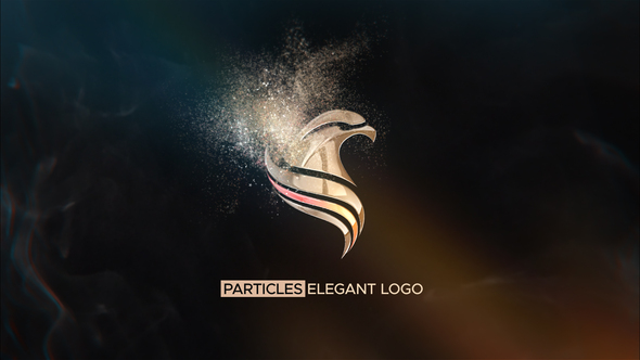 Particles Elegant Logo   After Effects Template