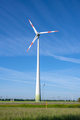 Wind turbine in front of a blue sky - PhotoDune Item for Sale