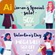 Women Shopping Social Media Banner - GraphicRiver Item for Sale