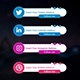 8 Amazing Circle Social Media Lower Thirds - VideoHive Item for Sale
